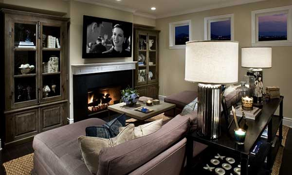 Imagine A Room With Medium Sized Flat Panel Tv For Casual Daytime Viewing When Evening Movie Time Arrives One Simple On Push Your Remote Control